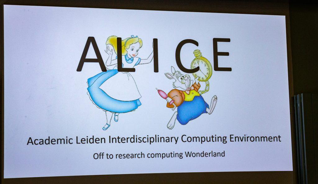 Universiteit Leiden ALICE HPC cluster